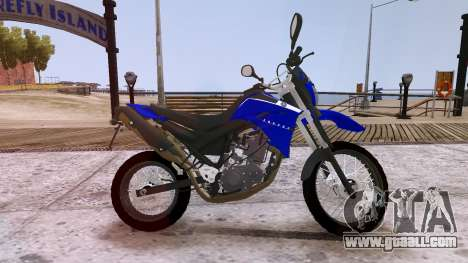 Yamaha XT 660R for GTA 4 left view