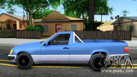 Mercedes-Benz W124 Pickup for GTA San Andreas left view