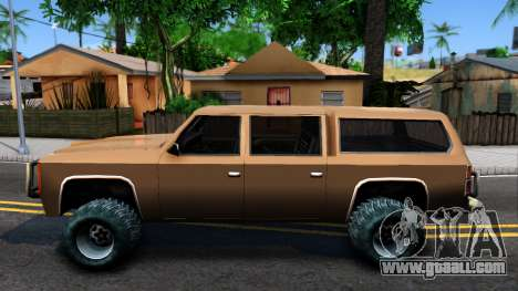 Military Off-road Rancher for GTA San Andreas