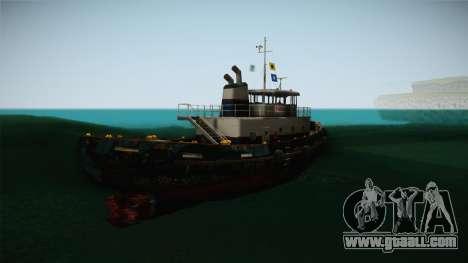 GTA 5 Buckingham Tug Boat for GTA San Andreas