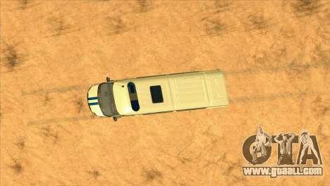 Gazelle PPSP for GTA San Andreas inner view