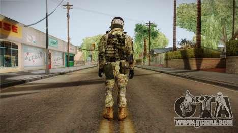Multitarn Camo Soldier v3 for GTA San Andreas third screenshot