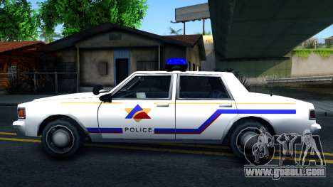 Vapid Stanier Hometown Police Department 1999 for GTA San Andreas