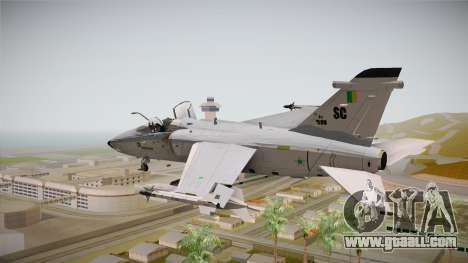 EMB Embraer A-1 AMX FAB for GTA San Andreas right view
