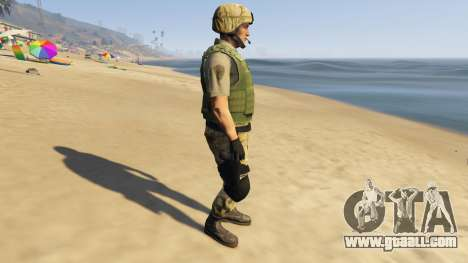 GTA 5 SAHP SWAT Ped Model 2.0.0 second screenshot