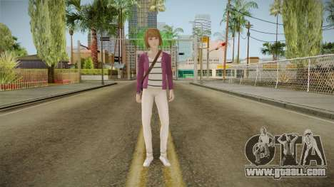 Life Is Strange - Max Caulfield Vortex Club v1 for GTA San Andreas