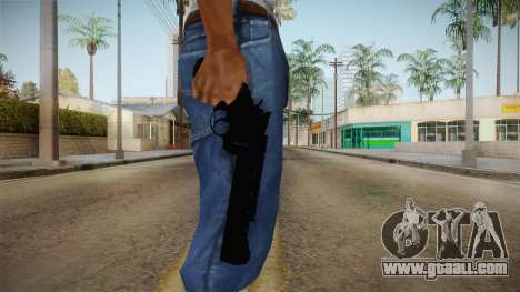 .44 Magnum Colt from CoD Ghost for GTA San Andreas third screenshot