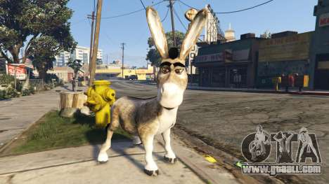 GTA 5 Donkey form Shrek