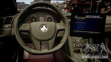 NSWPF Omega v3 for GTA 4 inner view