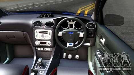 Ford Focus 2 Sedan RS Beta for GTA San Andreas