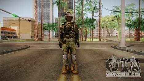 Multitarn Camo Soldier v3 for GTA San Andreas