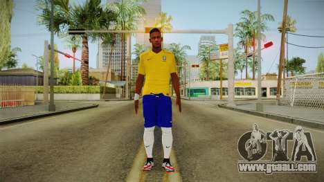 PES2016 - Neymar for GTA San Andreas second screenshot