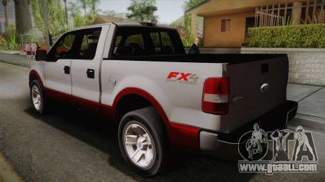 Ford F-150 King Ranch 2005 for GTA San Andreas left view