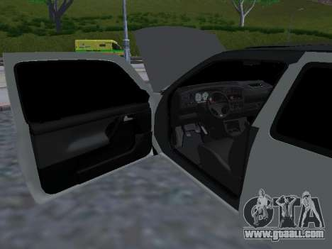 Volkswagen Golf 3 Armenian for GTA San Andreas bottom view