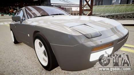 Porsche 944 Turbo for GTA 4 right view