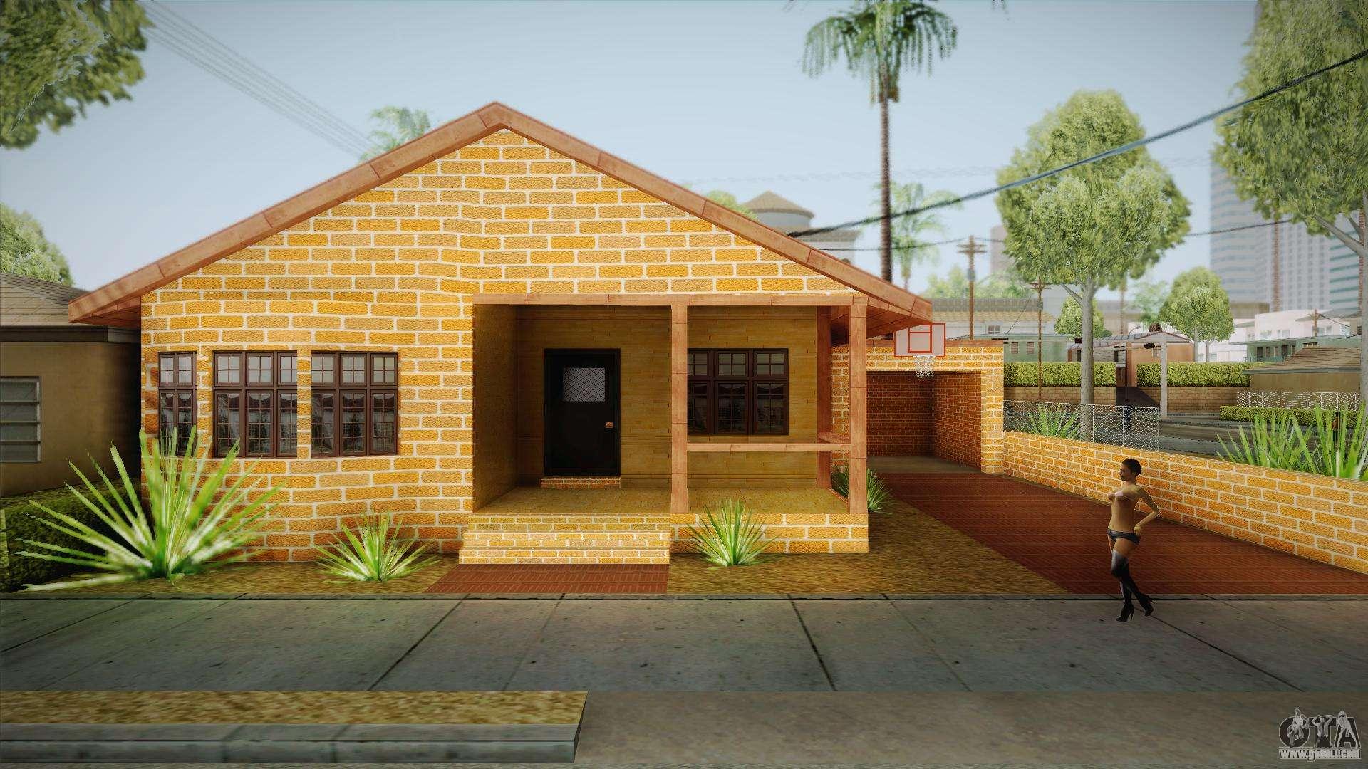 New big smoke house for gta san andreas for New house big