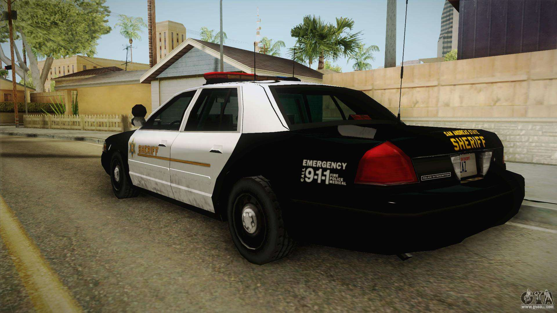 Ford Crown Victoria Sheriff For Gta San Andreas Right View Jpg X Crown Vic All Sides