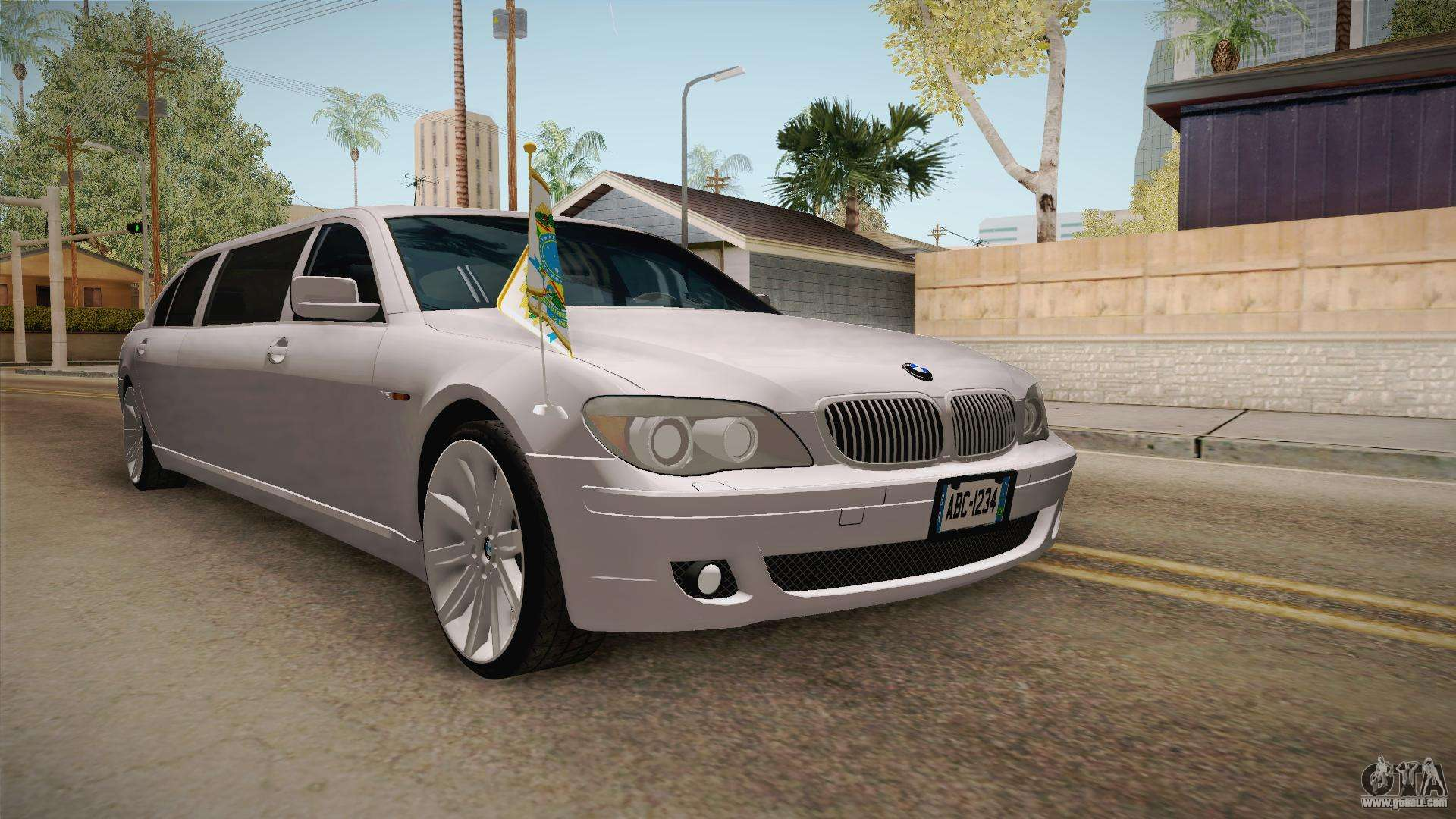 bmw e66 7 series limousine for gta san andreas. Black Bedroom Furniture Sets. Home Design Ideas