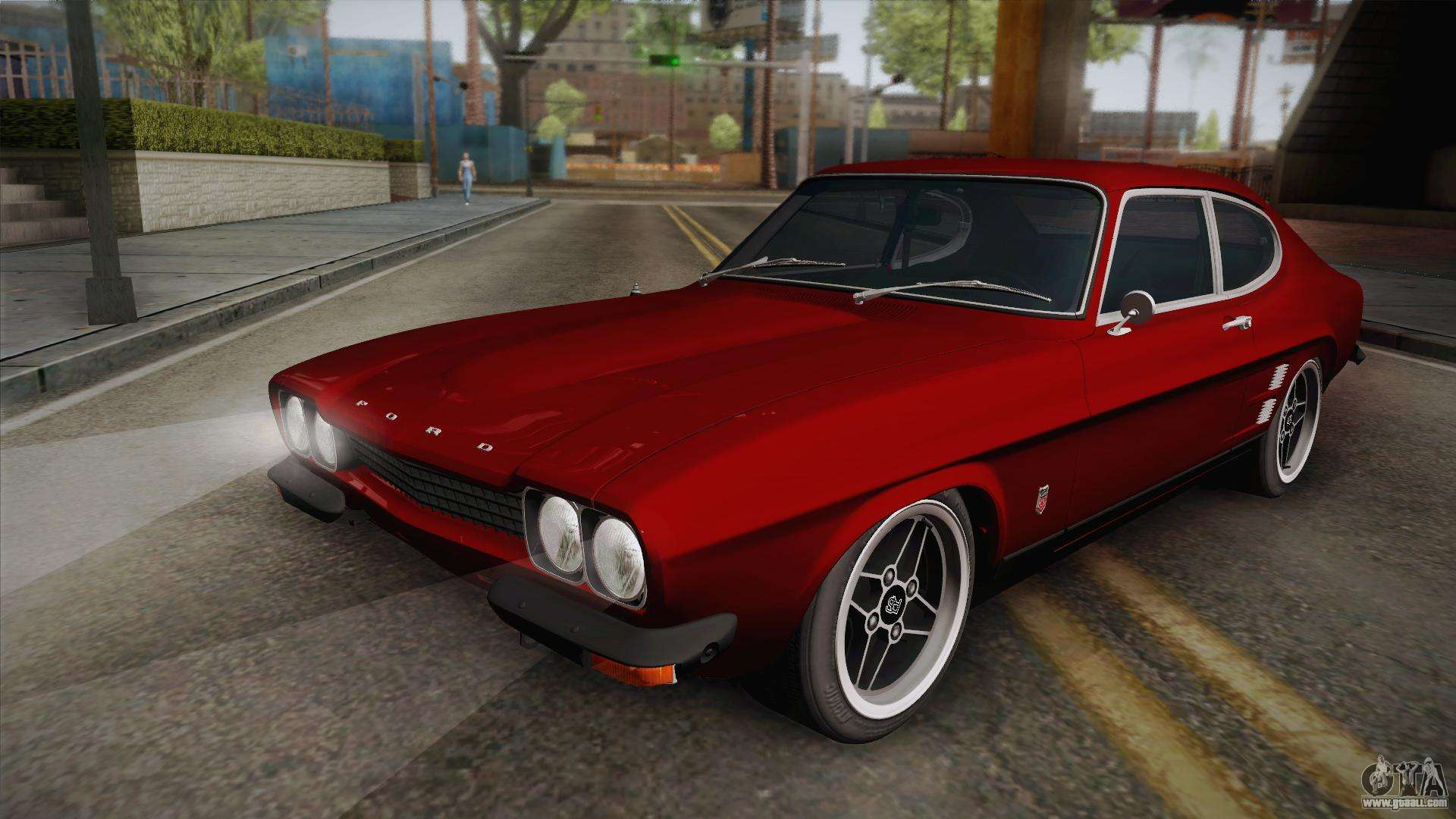 ford capri rs3100 1973 for gta san andreas. Black Bedroom Furniture Sets. Home Design Ideas