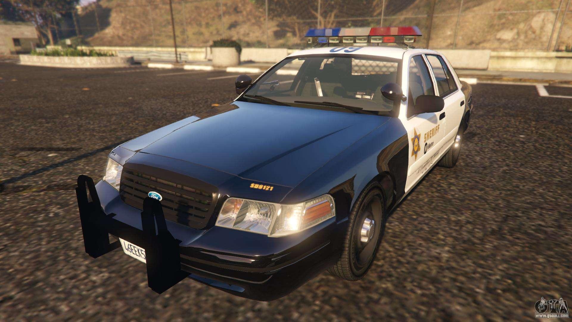 Ford Crown Victoria P71 LA Co Sheriff 1999 for GTA 5