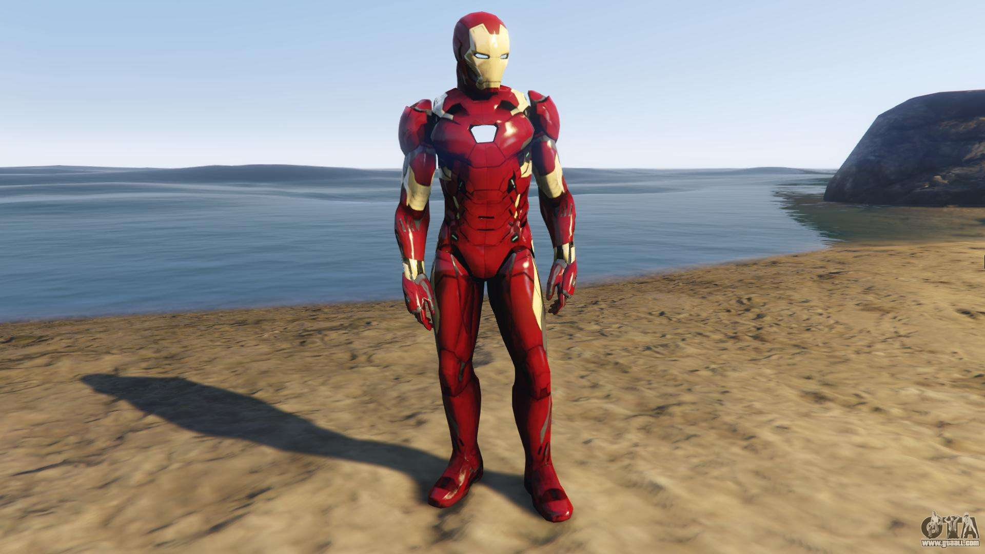 Iron Man Mark 46 for GTA 5
