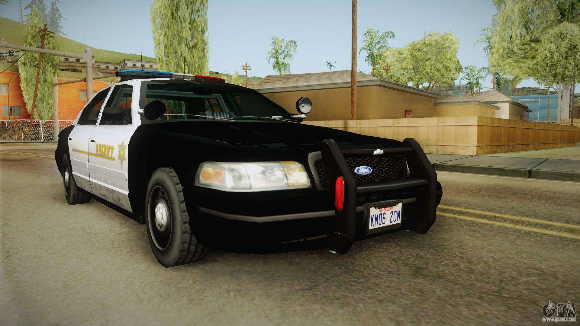 Ford Crown Victoria Sheriff For Gta San Andreas Back Left View Jpg X Gta Ford Crown