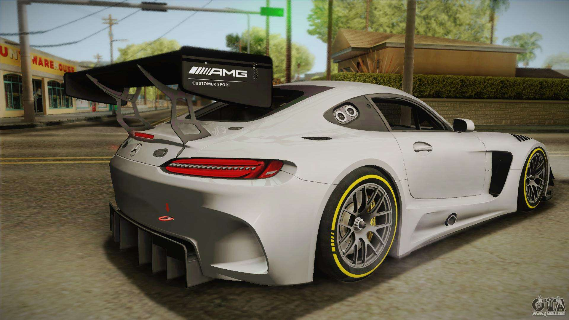 Mercedes benz amg gt3 2016 for gta san andreas for Mercedes benz gt3