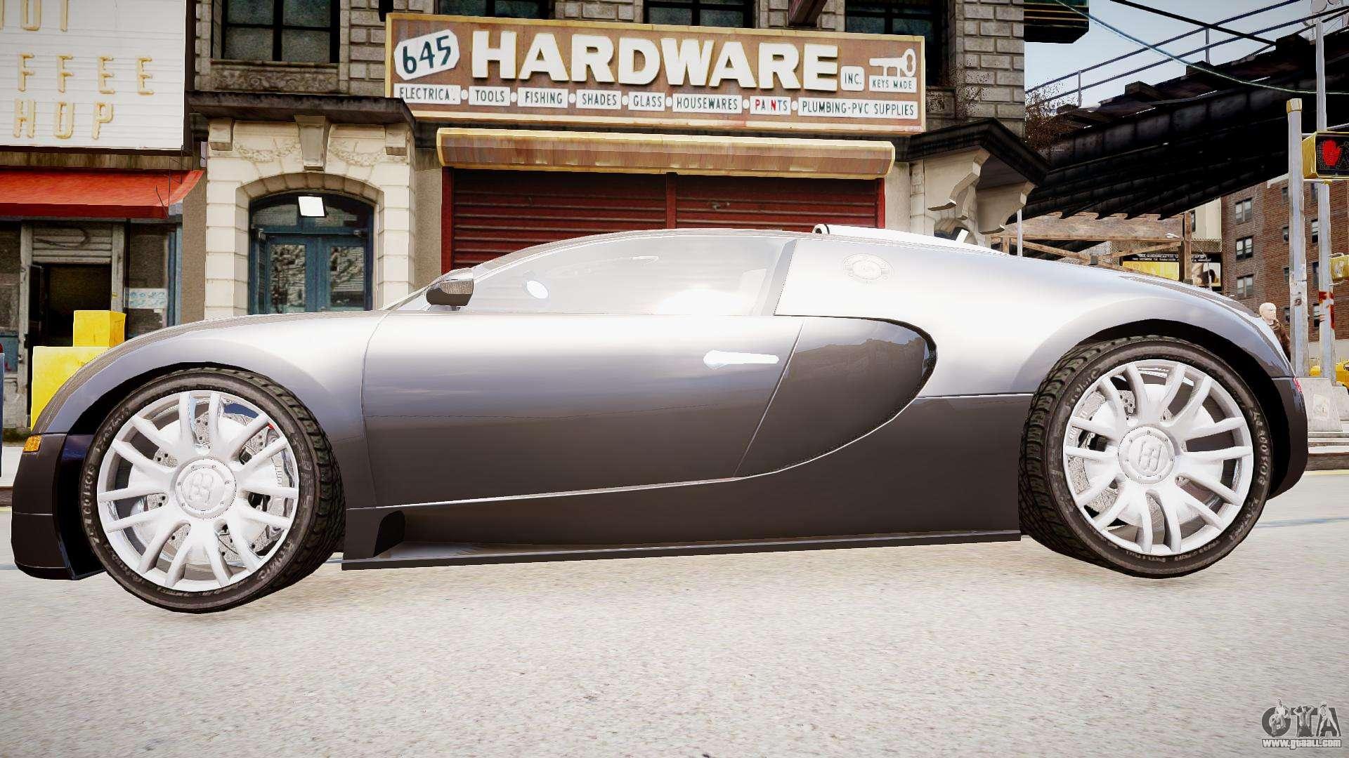 bugatti veyron 16 4 v1 7 for gta 4. Black Bedroom Furniture Sets. Home Design Ideas