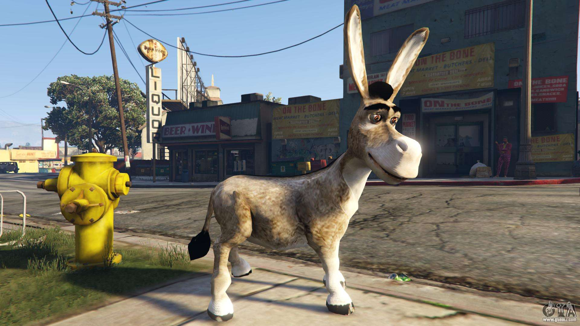 Donkey Form Shrek For Gta 5