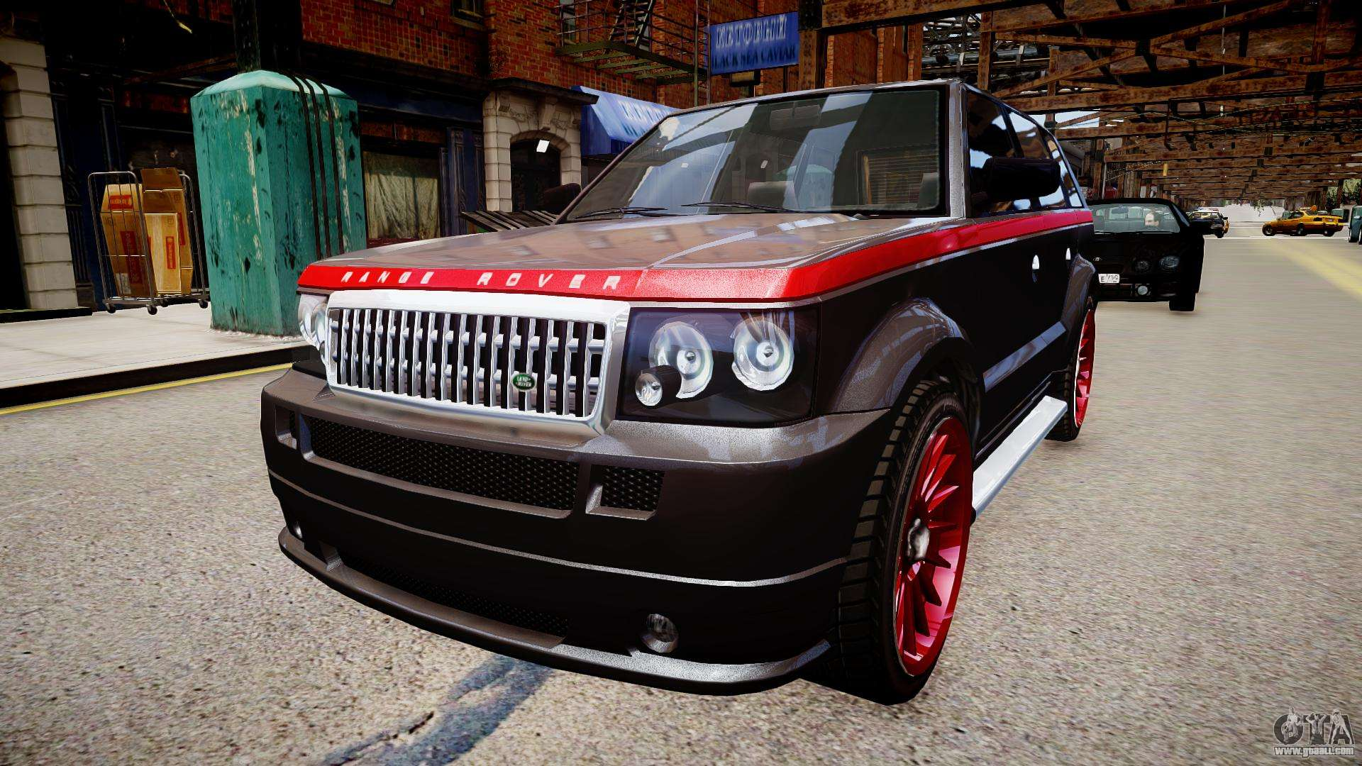 Huntley Range Rover Sport for GTA 4