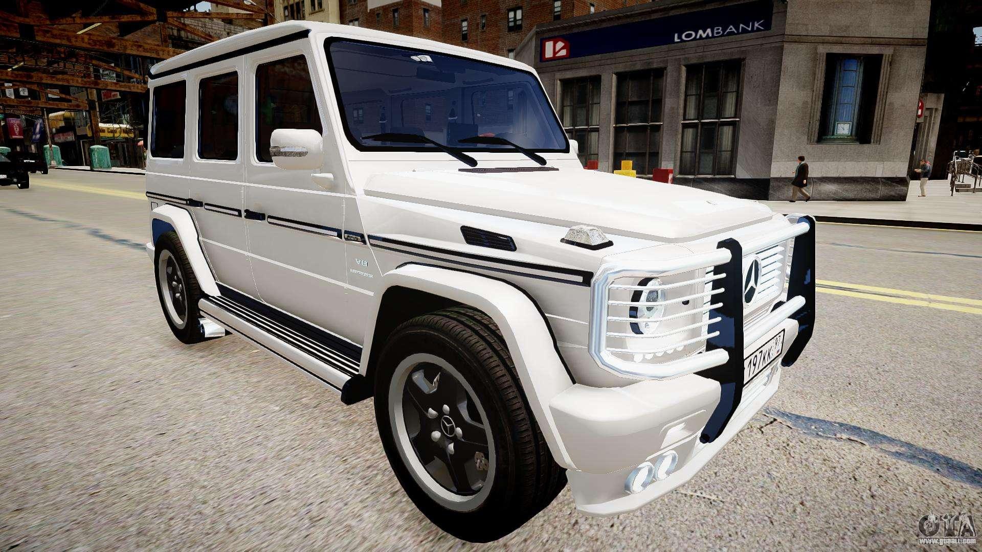 Mercedes Benz G55 Amg V2 For Gta 4
