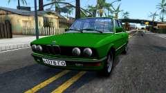BMW 535i E28 for GTA San Andreas