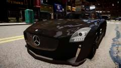 Mercedes Benz SLS Threep Edition