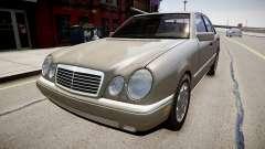 Mercedes E280 w210 1998 for GTA 4