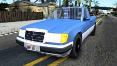 Mercedes-Benz W124 Pickup for GTA San Andreas