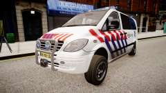Mercedes-Benz Vito 115 CDI Dutch Police for GTA 4