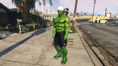 The Hulk human eyes for GTA 5