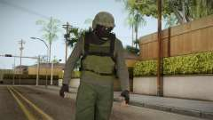 GTA Online Military Skin Green-Verde for GTA San Andreas