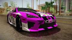 Lexus LFA Emilia The Purple of ReZero for GTA San Andreas