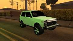 Niva 2121 Аrmenian for GTA San Andreas