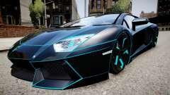 Lamborghini Aventador TRON Edition