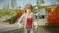 Life Is Strange - Max Caulfield Red Shirt v2 for GTA San Andreas