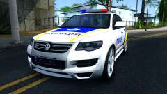 Volkswagen Touareg Police Of Ukraine for GTA San Andreas