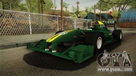 F1 Lotus T125 2011 v4 for GTA San Andreas