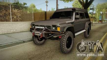 Nissan Safari Y60 for GTA San Andreas