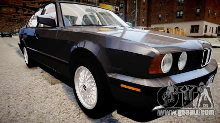 BMW 535i E34 ShadowLine v.3.0 for GTA 4