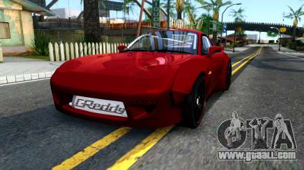 Mazda RX-7 Rocket Bunny for GTA San Andreas