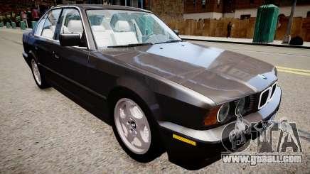 BMW 540i E34 for GTA 4