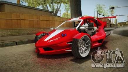 GTA 5 BF Raptor for GTA San Andreas