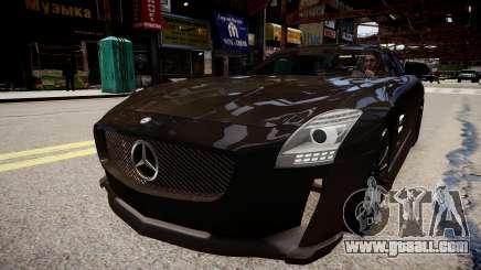 Mercedes Benz SLS Threep Edition for GTA 4